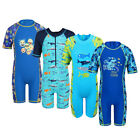 Teen Boys UV 50+ Sun Protection Rash Guard Surf Swimsuit Swimming Costume 3-10Y