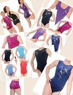 GYMNASTICS LEOTARD / LEOTARDS  SHORTS ZONE DIVA VALENTINE SPIRIT AGES  3 - 15+
