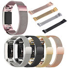 New Milanese Stainless Steel Wrist Watch Band Bracelet Strap for Fitbit Charge 2