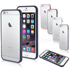 Shock Absorption Proof Hard TPU Clear Back Case Cover for Apple iPhone Models