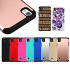 For LG Tribute HD X Style Volt 3 Hybrid Hard Slim Tough Shockproof Case Cover