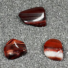 Red Tiger's Eye Tumble Polished Crystal Stone, 1 pc, Sizes 1.1 to 1.6 Inch TS826