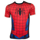 Spider-Man Sublimated Men's Athletic Costume Tee Shirt Red