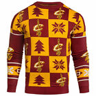 Cleveland Cavaliers Patches Ugly Christmas Sweater NEW ALL SIZES on eBay