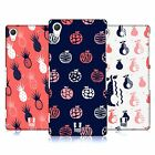 HEAD CASE DESIGNS FRUITY DOODLES HARD BACK CASE FOR SONY PHONES 2