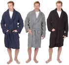 Pierre Roche Mens Towelling Dressing Gown Bathrobe