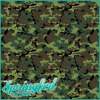 Green Classic Camo Pattern Craft Vinyl for crafts Adhesive Army Camouflage