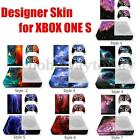 Coque Etui Housse Sticker Peau Skin Kit Pour Xbox One S Console Manette Gaming
