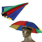 Umbrella Hat Sun Shade Camping Fishing Hiking Outdoor Foldable Headwear New