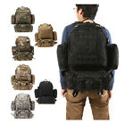 Multi-Color Military Tactical Molle Assault Travel Backpack  Sport Hiking Bag