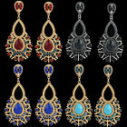 Sale New Fashion Women Vintage Crystal Rhinestone Stud Drop Dangle Earirngs