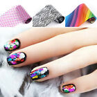 Manicure Nail Sticker Foils Holographic Nail Art Transfer Sticker Decal Paper