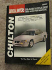 Chilton Repair Manual General Motors Grand Am Achieva Skylark Somerset #28660