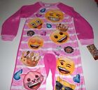 New Emoji Union Suit onesie girls sizes XS S M L Emoji one piece pajamas