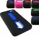 FOR ZTE GRAND X4 Z956 RUGGED HYBRID ARMOR IMPACT CASE COVER ACCESSORY+STYLUS