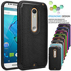 Shockproof Rugged Rubber Hard Case Cover For Motorola Moto X Style Pure Edition