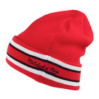 Mitchell & Ness Chicago Bulls -League Team Stripe Beanie - Red