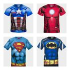 Boys Officially Licensed Marvel DC Comics Short Sleeve T-Shirt Top. BNWT (295)