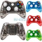 Glow Light Usb Wired/wireless Gamepad Controller For Xbox 360 Xbox 360 Game Usa