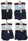 MENS PYJAMA BOTTOMS JERSEY COTTON PRINTED POCKETS LOUNGE PANTS S-2XL BNWT