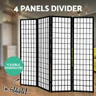 Artiss 3/4/6/8 Panel Room Divider Privacy Screen Wooden Dividers Timber St