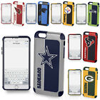 iPhone 7 Plus Case Official NFL Impact Shockproof Armor Hybrid Dual Fan Cover