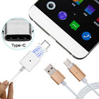 POFAN Magnetic USB 3.1 Type C Data Sync Charging Cable Adapter For HUAWEI P9