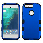 For Google Pixel & XL IMPACT TUFF HYBRID Protector Hard Case Skin Phone Cover