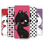 HEAD CASE DESIGNS CATS AND DOTS HARD BACK CASE FOR SONY PHONES 1