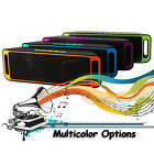 Colorful Bluetooth Wireless double Speaker stereo Portable for iPhone PC USB/AUX