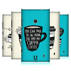 HEAD CASE DESIGNS COFFEE FIX HARD BACK CASE FOR NOKIA LUMIA 520 / 525