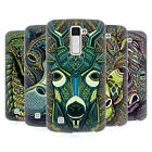 HEAD CASE DESIGNS AZTEC ANIMAL FACES SERIES 6 HARD BACK CASE FOR LG K10
