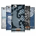HEAD CASE DESIGNS JEANS AND LACES HARD BACK CASE FOR SONY XPERIA M / M DUAL