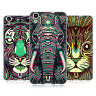 HEAD CASE DESIGNS AZTEC ANIMAL FACES 2 SOFT GEL CASE FOR HUAWEI Y6 HONOR 4A