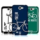 HEAD CASE DESIGNS FIXED GEARS HARD BACK CASE FOR SAMSUNG GALAXY NOTE 2 II
