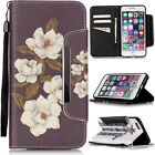 Wallet Flip Leather Phone Case Cover For Apple iPhone Samsung Galaxy LG Huawei