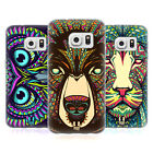 HEAD CASE DESIGNS AZTEC ANIMAL FACES SOFT GEL CASE FOR SAMSUNG GALAXY S7