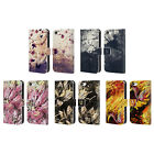 HEAD CASE DESIGNS FLORAL DRIPS LEATHER BOOK WALLET CASE FOR APPLE iPHONE 5C