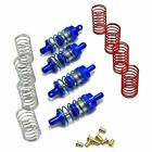 Hot Racing MFD32806 Blue Aluminum 32mm Shock Absorber Set: Losi 1/24 Micro 4WD