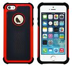 Shock Proof Heavy Duty Tough Armour Hard Case Cover For Apple iPhone 5 / 5S / SE