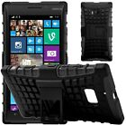 Shock Proof Heavy Duty Tough Armour Hard Stand Case Cover For Nokia Lumia 930
