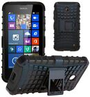Shock Proof Heavy Duty Tough Armour Stand Case Cover For Nokia Lumia 630 / 635