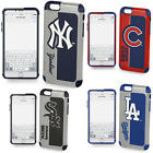 iPhone 7 Plus Case Official MLB Hard Armor Shockproof Fan Cover + Tempered Glass