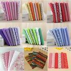 7 Assorted Series Pre-Cut Fat Quarter Bundle Cotton Quilt Fabric Cloth Sewing