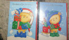 FOR BABYS FIRST CHRISTMAS CARD BLUE TEDDY MOUSE GREETINGS
