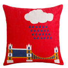 """Home Decorative Throw Pillow Case 18"""" Sofa Seat Cushion Cover cool flag Square"""