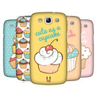 HEAD CASE DESIGNS CUPCAKES HARD BACK CASE FOR SAMSUNG GALAXY S3 III