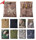 Tactical Molle Magazine Mag Ammo Dump Drop Pouch Bag Airsoft Hunting Paintball