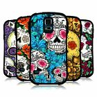 HEAD CASE DESIGNS FLORID OF SKULLS HYBRID CASE FOR SAMSUNG GALAXY S5 / S5 NEO