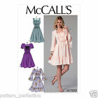 McCall's 7500 Sewing Pattern to MAKE Close Fitting Bodice Dress Boho Gypsy Style